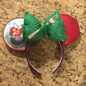 NWT Little Mermaid mickey ears for kids or adults